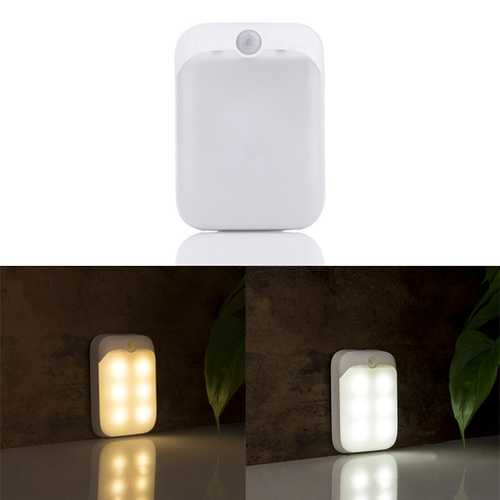 ARILUX PIR Motion Sensor 6 LED USB Rechargeable Portable Night Light for Closet Cabinet Camping