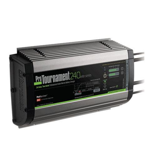 ProMariner ProTournament 240 ielite/i Dual Charger - 24 Amp 2 Bank