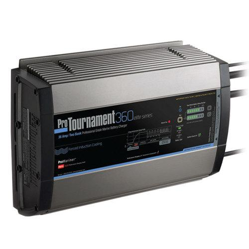 ProMariner ProTournament 360 ielite/i Dual Charger - 36 Amp 2 Bank