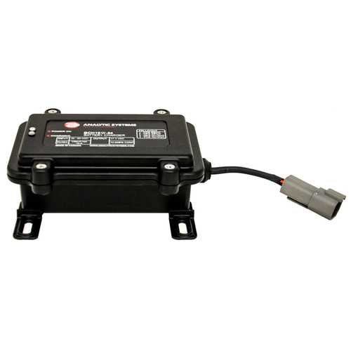 Analytic Systems Waterproof IP66 DC Battery Charger 10A 24V Out 30-80V In Ruggedized